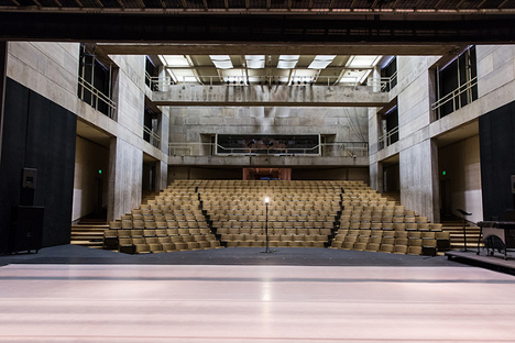 Wesleyan Center for the Arts Theater – view of audience of seating